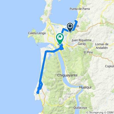 Ruta supersónica en Concepción