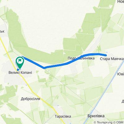 Спокойный маршрут в Великие Копаны