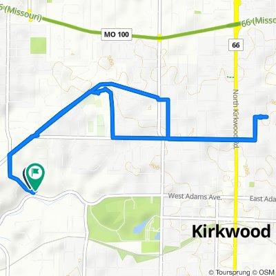 Easy ride in Kirkwood