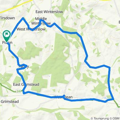 Parsonage Farm Barn, Whiteway, Salisbury to Parsonage Farm Barn, Whiteway, Salisbury