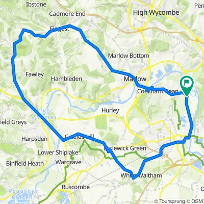 6 Sutton Close, Maidenhead to 3 Sutton Close, Maidenhead