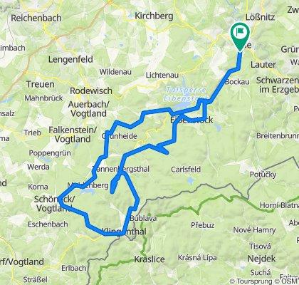 RSV-Aue Tour nach Schöneck