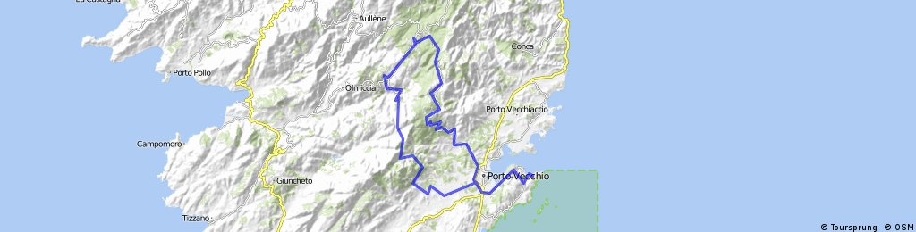 Süd-Östliches Gebirge Korsikas Tour