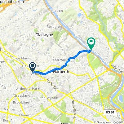 24 Cricket Ave, Ardmore to 4485–4499 Main St, Philadelphia