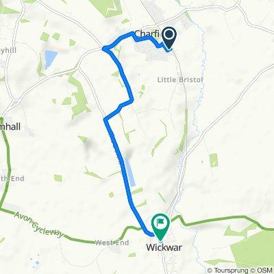 16 Woodlands Road, Wotton-under-Edge to 5 North Street, Wotton-under-Edge