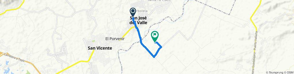 De Melchor Ocampo 46, San José del Valle a Unnamed Road
