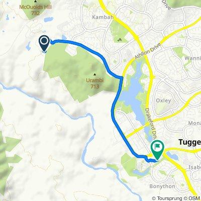 3 Winser Crescent, Kambah to 57 Tenison-Woods Circuit, Bonython