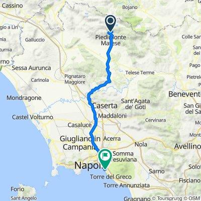 Via Nazionale 79, San Gregorio Matese to Viale Giotto 3–8, Portici