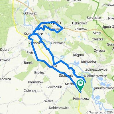 Łatwa trasa w Reńska Wieś