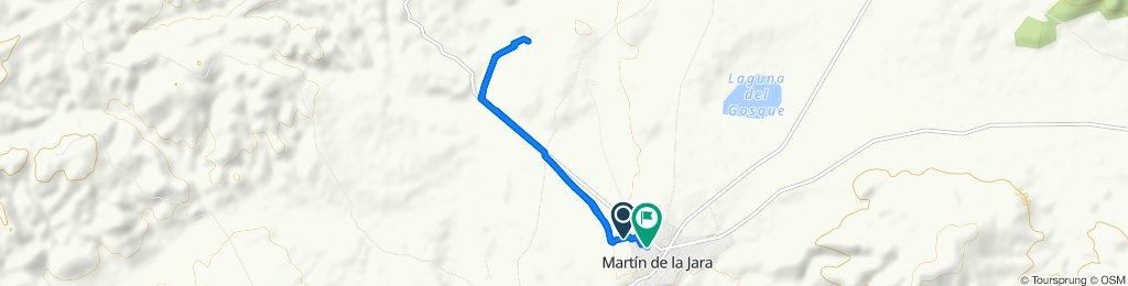 Ruta tranquila en Martín de la Jara