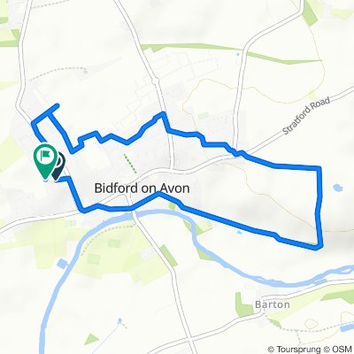 Moderate route in Alcester