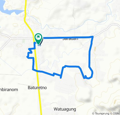Jalan Kinanti, Baturetno to Jalan Kinanti, Baturetno