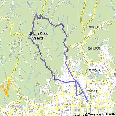 Kitayama Loop over Moshikosh and Kyomi passes