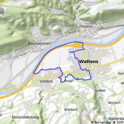 Wattens - Himmelreich - Baumkirchen - Fritzens - Wattens