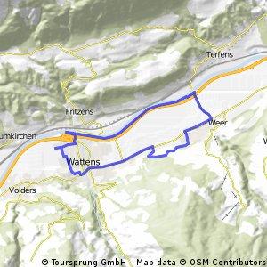 Wattens - Kolsass - Weer - Wattens