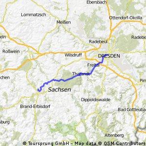Dresden - Freiberg