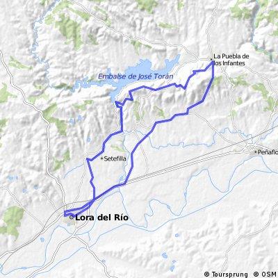 Lora del rio-Puebla Infantes ZONA-ESTE BTT