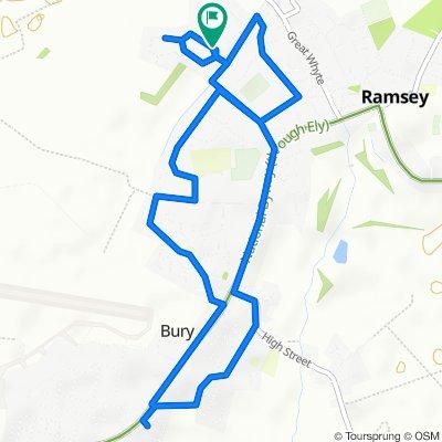 Westfield Road 59, Ramsey to Westfield Road 59, Ramsey