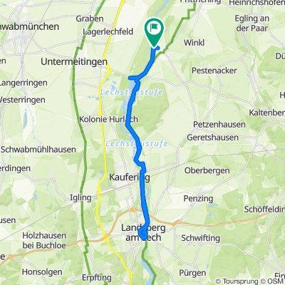 Ahornweg 1A, Scheuring nach Ahornweg 1A, Scheuring