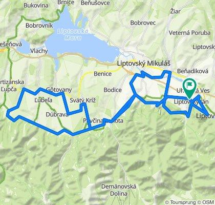 Trasa/Route 6 | mtbliptov.bike