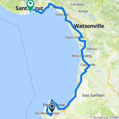 Santa Cruz Pacific Trail
