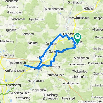 Entspannende Route in Aichach