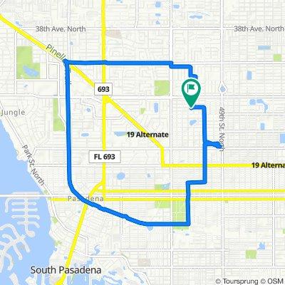 5418 19th Ave N, Saint Petersburg to 5418 19th Ave N, Saint Petersburg