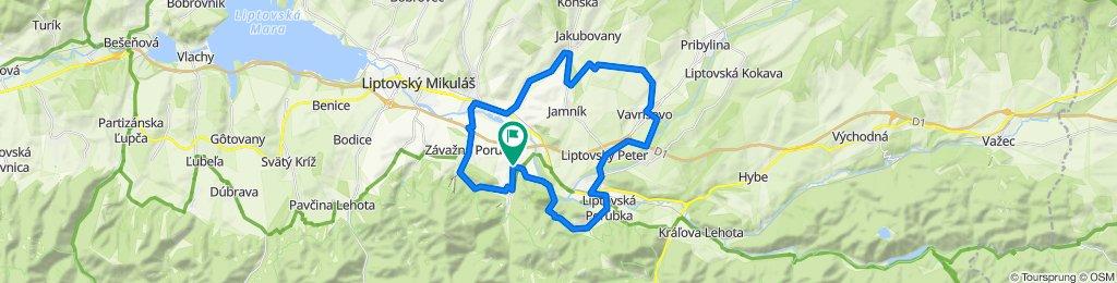 Trasa/Route 8 | mtbliptov.bike