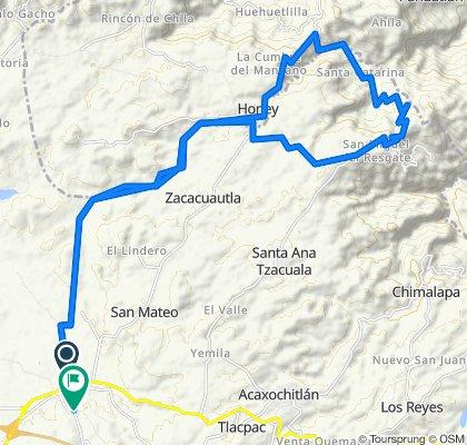 De Tulancingo - Huauchinango Carretera a Unnamed Road
