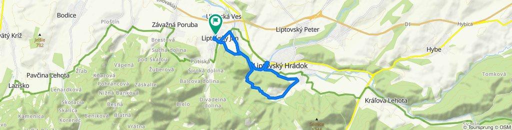 Trasa/Route 10 | mtbliptov.bike