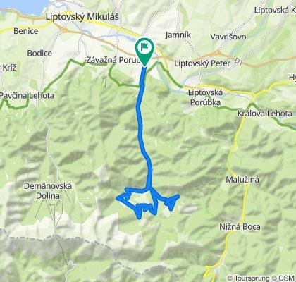 Trasa/Route 11 | mtbliptov.bike