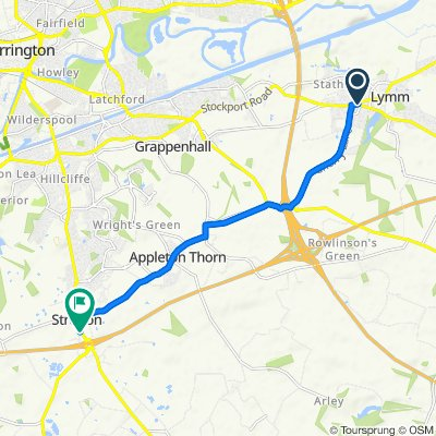 68 Eagle Brow, Lymm to Tarporley Road, Warrington