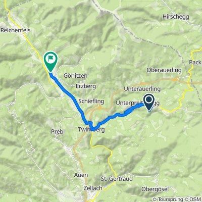 Überschallgeschwindigkeitsfahrt in Bad Sankt Leonhard im Lavanttal