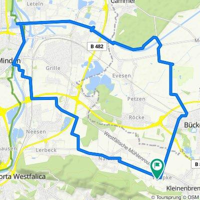 Wülpke-Minden-Kanal-Bückeburg-Wülpke
