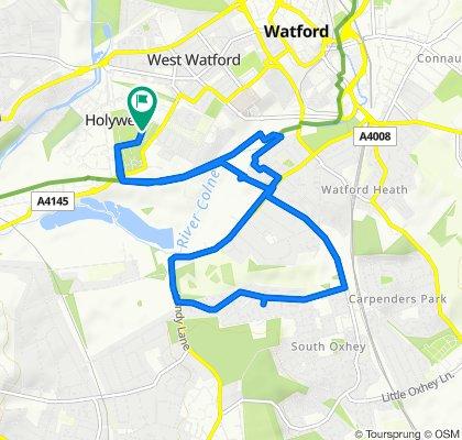 Slow ride in Watford