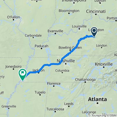 136 Lemay Rd, Lancaster to 2434 Vista Dr, Memphis
