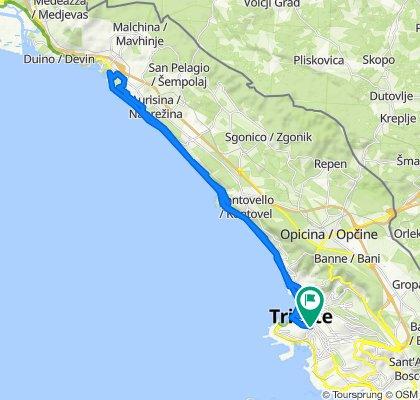 Giro semplice in Trieste