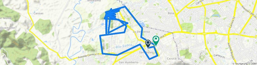 De Calle 34 2b-1, Soacha a Carrera 2 38-80, Soacha