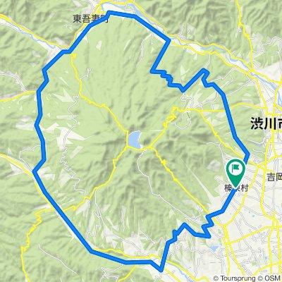 メディフォンド榛名 2014(榛名山一周コース/主に県道)
