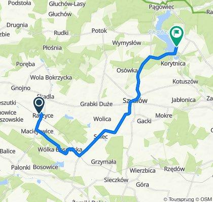 Łatwa trasa w Staszów