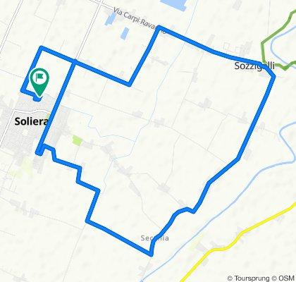 Tour veloce in Soliera