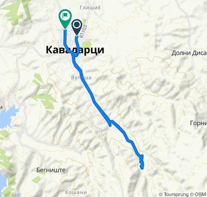 Ulica Blazho Aleksov 52, Kavadrtsi to Bulevar Makedonija 1, Kavadrtsi