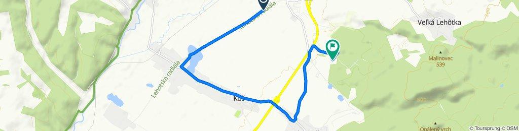 Unnamed Road, Koš do Unnamed Road, Prievidza