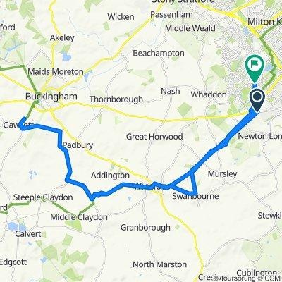 Moderate route in Milton Keynes