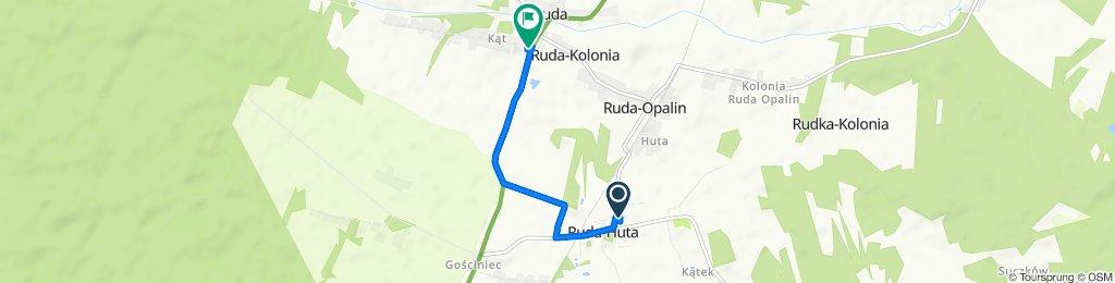 Zrelaksowana trasa w Ruda