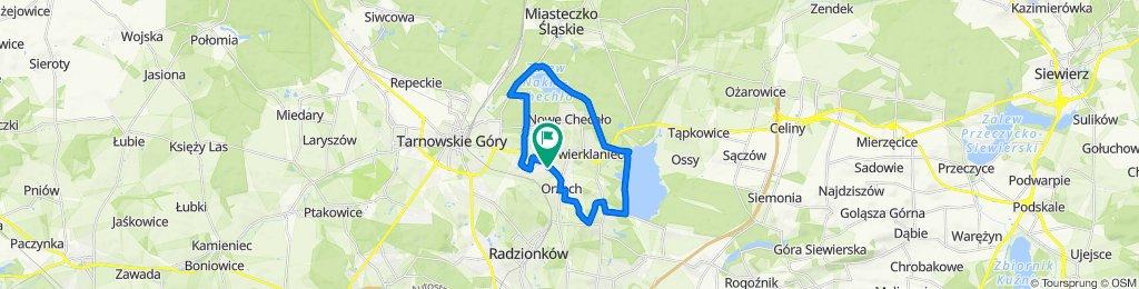 Zrelaksowana trasa w Nakło Śląskie