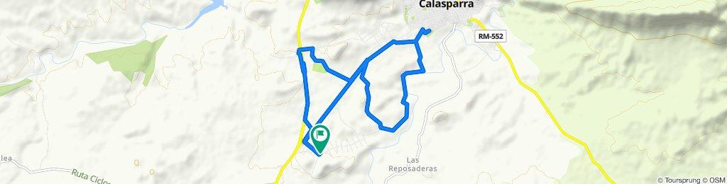 Ruta relajada en Calasparra