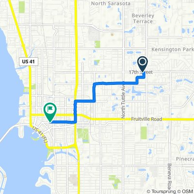 Slow ride in Sarasota