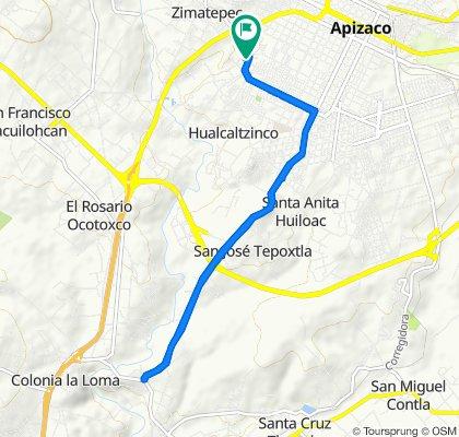 De 18 de Julio 22, San Benito Xaltocan a 18 de Julio 22, San Benito Xaltocan