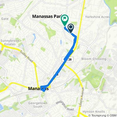 129 Old Centreville Rd, Manassas Park to 185 Old Centreville Rd, Manassas Park